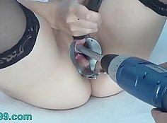 Buttplug Cum, Tits, Mouth,and Pee