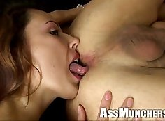 Ashley Jenson in Amazing Ass Licking Action