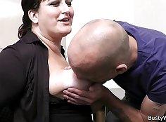 Busty Office Secretary Fucked By Customer As She Stopped Workout U