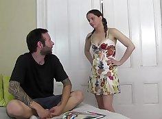 Big Daddy Johnny Fucks Tiny Jennah Pregnant Brazour