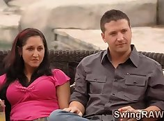 Broke Swinger Couple Loves to Record The Banderousness oftheir