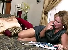 Blond mom likes to fuck with her son in law