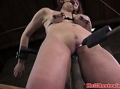 Brutal gagging and humiliation during rough fuck