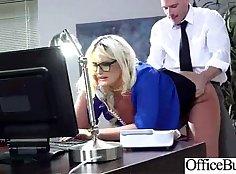 Busty Dollfucked Boyfriend In The Office