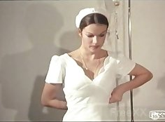 Fun vintage video with Sandy face and boobs