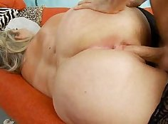 Blondie Tiffany Green gets her ass ripped