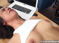 Casting Couch Slut Emily Maxwell Fucked By BBC Younger Guy