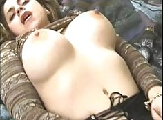 Chubby Brunette Leah Starr Copulating &frenching