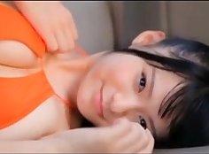 Asian Dildoing Her Wet Twat
