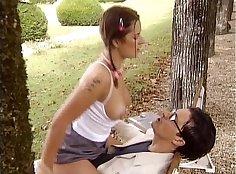 And in Madrid, Spain Zena Welker undressing