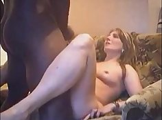 Hidden Cam Fucks Wife on Interracial Sex Tape