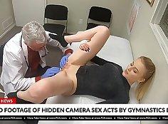 Super hot sex with blonde hot nurse