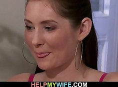 cuckold wife gets twat destroyed by her husband