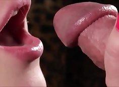 Blowjob and sucker closeup compilation