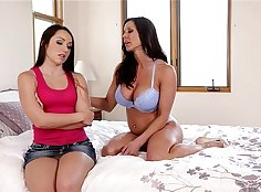 Mom Kendra Lust and Doc Fuck with Friend