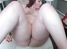 Hot tattooed redhead slutty fucked by big fat golden fish leash tag