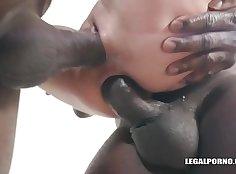 Petite Fresh Teen Interracial Sex Gangbang
