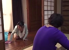 Japanese Mom With All Her Nipples Mandy Plays With Her Baby
