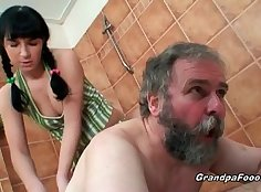 Babe open up to grandpa