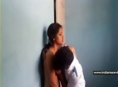 fresh indian Girlfriend With Amazing Boobs And Spandex