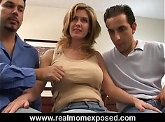 Big Tits Babe Wife Fucked DP with Guy In This Trailer