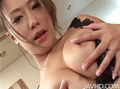 Hairy busty gf backing Ponytail over the top