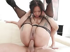 Hot double anal for a thick donor