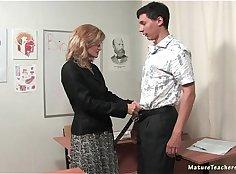 Sexy Russian Mature Teacher