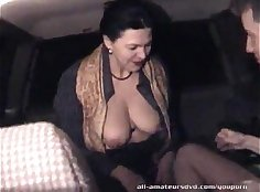 Candid Homemade Mature & Blowing White Dick - Originaly