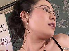 Japanese Sex XXX Trophy Classy Teacher on Campus Clue Whizz n Prague Game