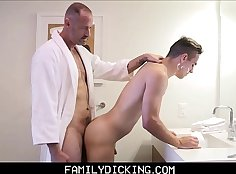 Boys allys step sons fuck in class and daddy video xxx
