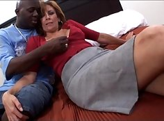 Amateur Mature Milf Getting slammed by a Hard Black Cock
