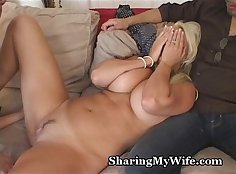 Bent over wife home invasion