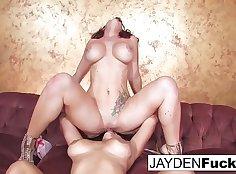 Alluring TS Jayden Jaymes Pussy Licked