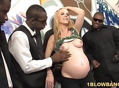 Bbc Bottomllicious interracial gangbang