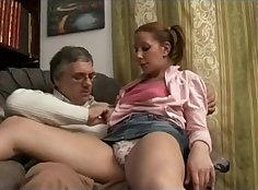Family threesome with daddys