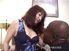 Busty Japanese Wife Face Fucked By Black Stranger